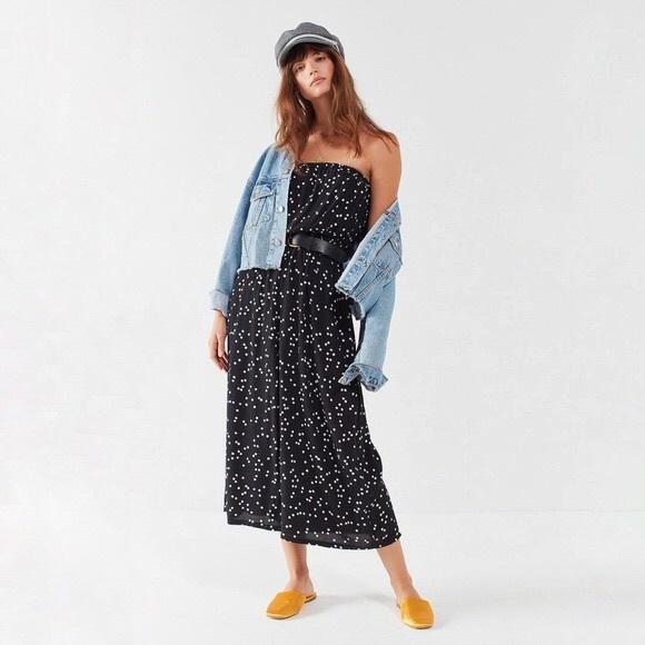 Urban Outfitters Dresses & Skirts - Noise Jackson Strapless Polka Dot Jumpsuit